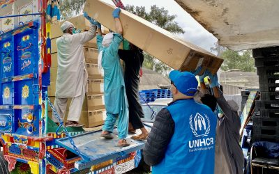 UNHCR steps up efforts to support the COVID-19 response in Pakistan