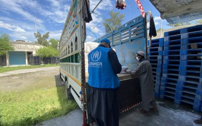 UNHCR welcomes Pakistan's efforts to include all in COVID-19 response