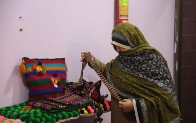 UNHCR's skills project empowered refugee woman to earn at home amid coronavirus outbreak