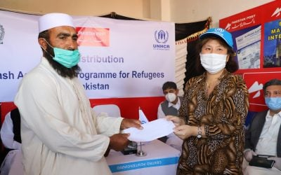 Most vulnerable refugee families begin receiving Rs.12,000 emergency cash assistance