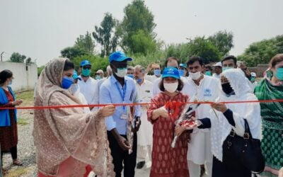 UNHCR Representative pledges continued support of refugees and host communities after first-ever visit to Peshawar