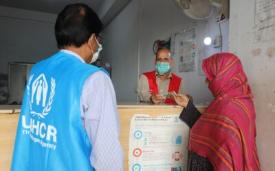 Generous donor support provides relief to refugee women hard hit by COVID-19 pandemic