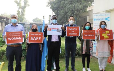 UNHCR organizes activities to mark 16 Days of Activism against Gender-Based Violence