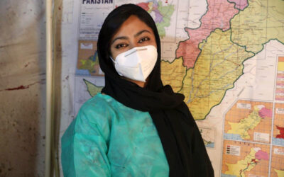 Breaking barriers, a young refugee woman fulfils her medical career dream