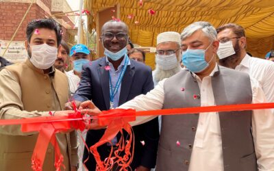 UNHCR's assistance strengthens public health facilities in Khyber Pakhtunkhwa