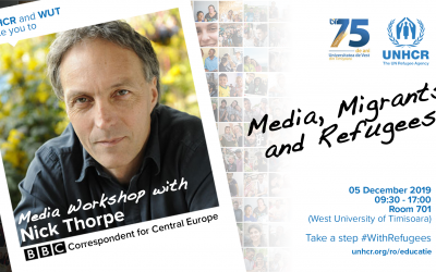 """""""Media, Migrants and Refugees"""" – Media Workshop with Nick Thorpe (BBC Correspondent for Central Europe)"""
