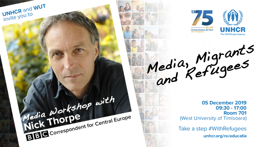 """Media, Migrants and Refugees"" – Media Workshop with Nick Thorpe (BBC Correspondent for Central Europe)"