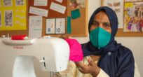 Refugee from Sudan Finds Salvation in Sewing