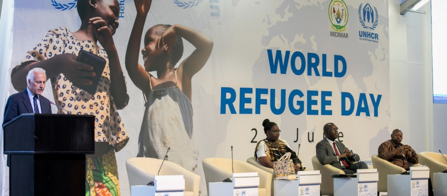 UNHCR and Rwanda discuss solutions for refugees during World Refugee Day 2016 commemoration