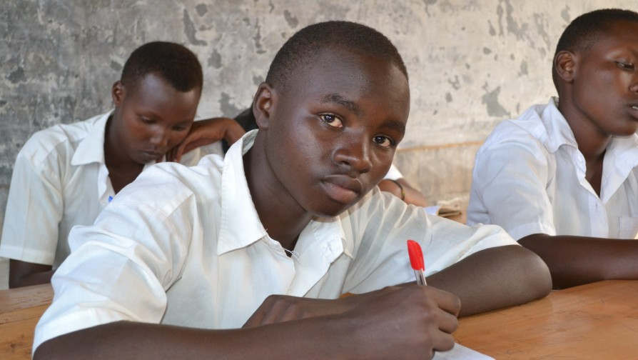 Congolese refugee Prince Nzamuwe makes the most of education opportunities offered by UNHCR with support from the Educate A Child Fund