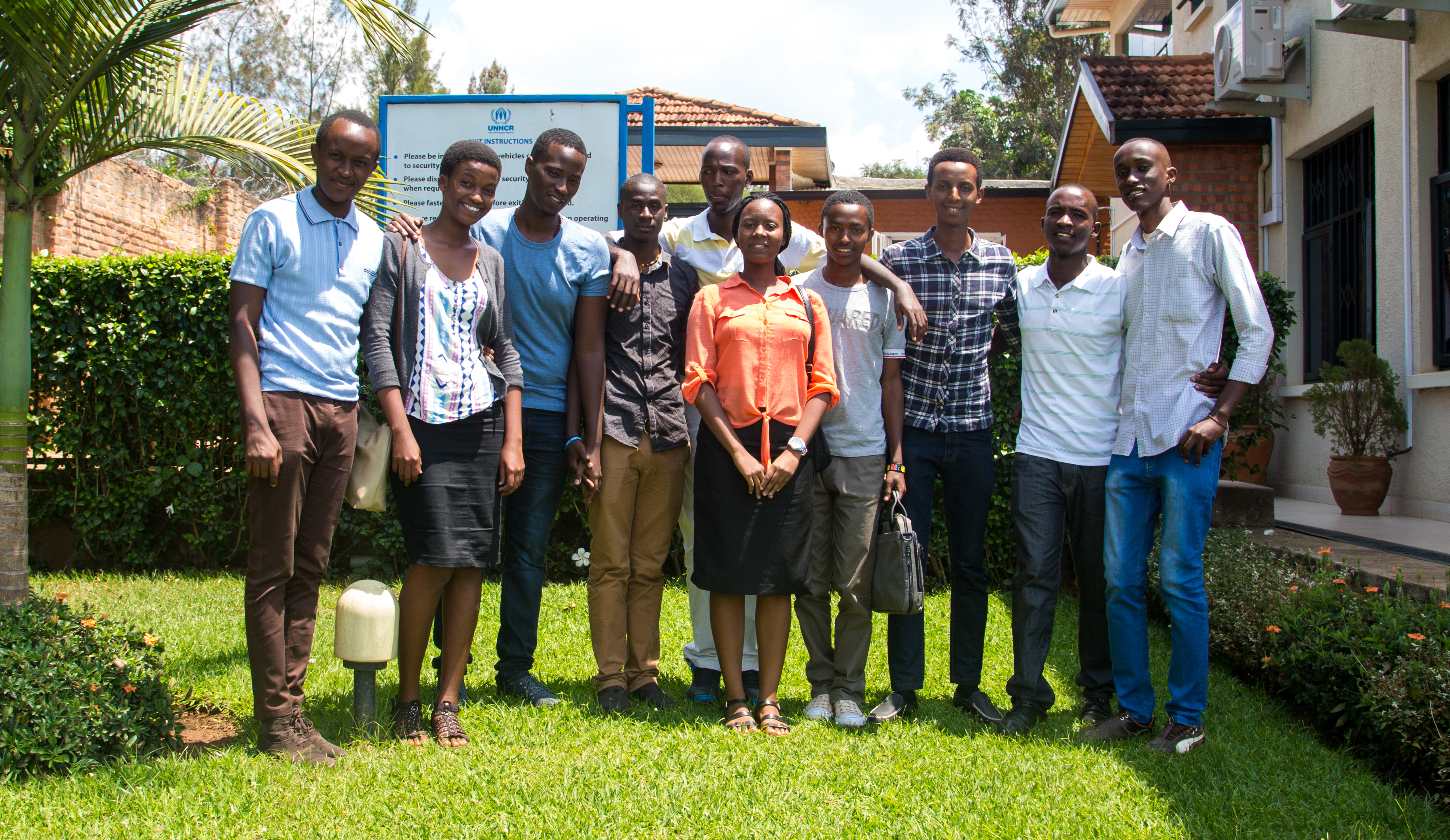 After witnessing violence and torture in Burundi, refugee youth in Rwanda are grateful for the chance to study abroad