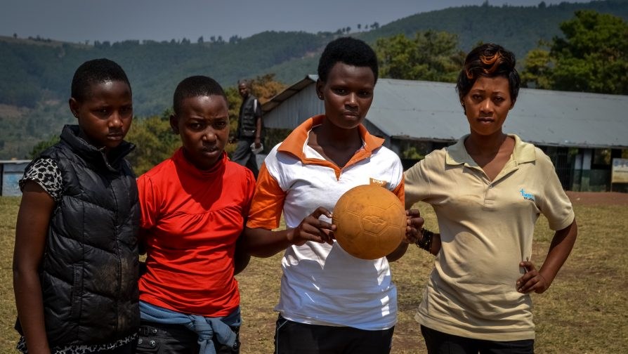 Breaking traditions – why more refugee girls are turning to sports in Rwanda's camps