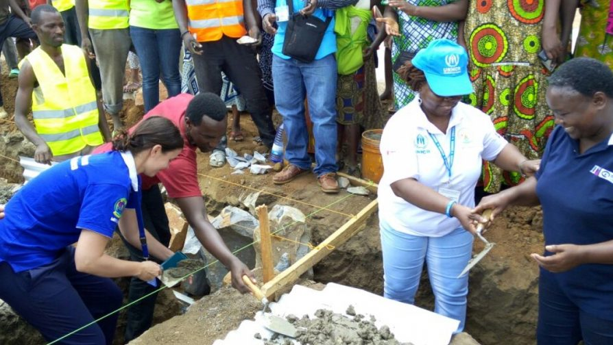 """Safe from the Start: Burundian refugee women and girls welcome the construction of an """"Opportunity Center"""" in Mahama camp to combat gender-based violence"""