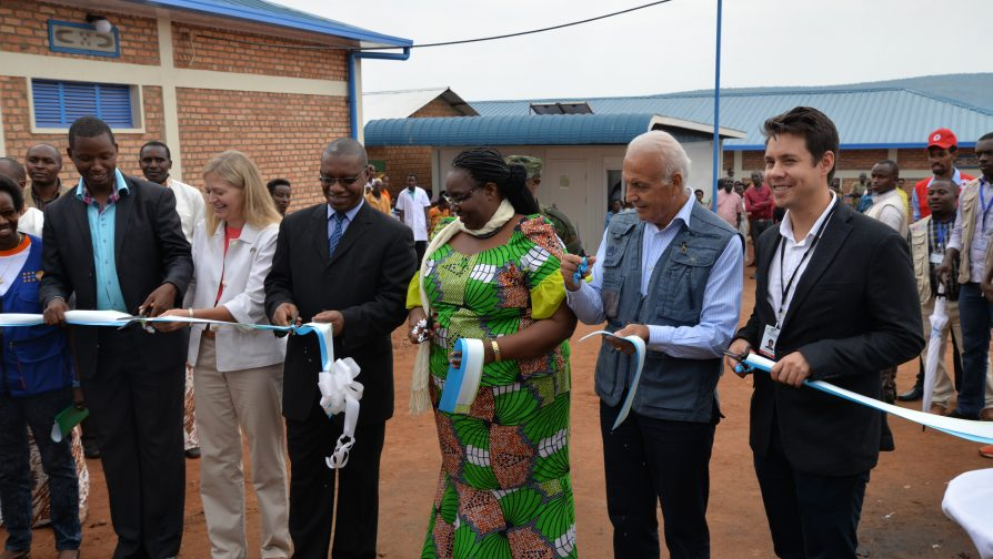 New health facilities inaugurated in Mahama Refugee Camp