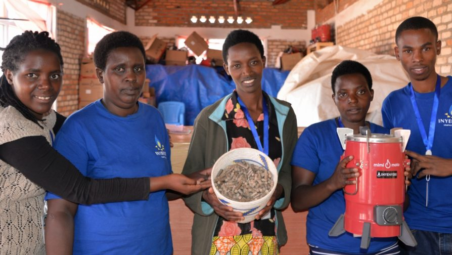 Clean and Safe Cooking in Kigeme camp: Inyenyeri brings jobs with new made-in-rwanda cooking fuel for Congolese refugees