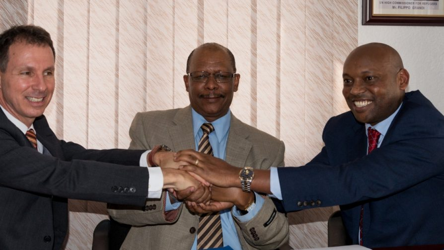 UNHCR, WFP and Equity Bank sign agreement to provide more dignified living conditions to refugees in Rwanda through cash-based assistance programme