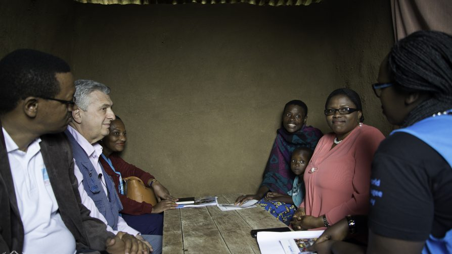 UNHCR chief calls for increased support for Congolese refugees