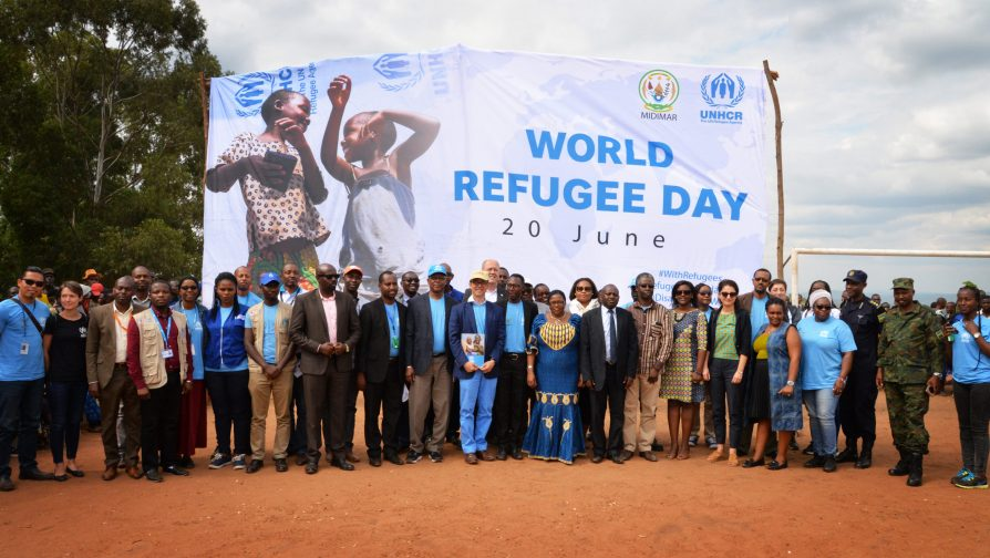 Standing with refugees to celebrate the World Refugee Day