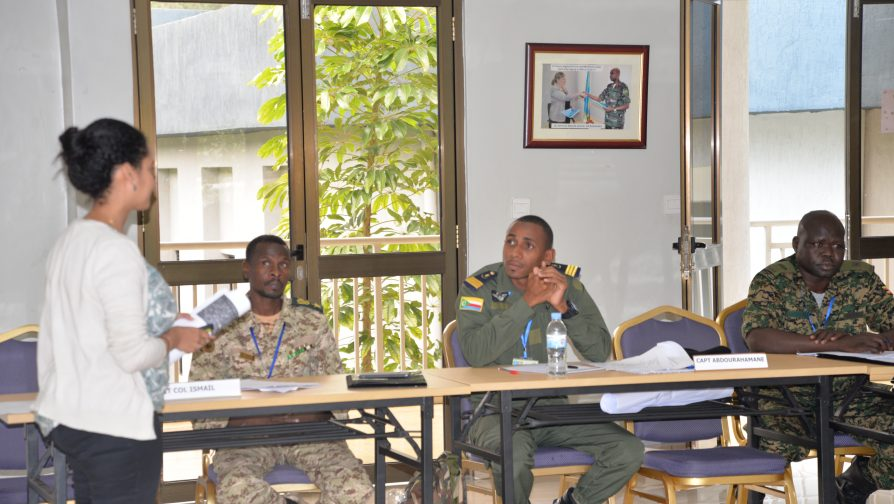 UNHCR Rwanda participates in UN Military Experts on Mission Course