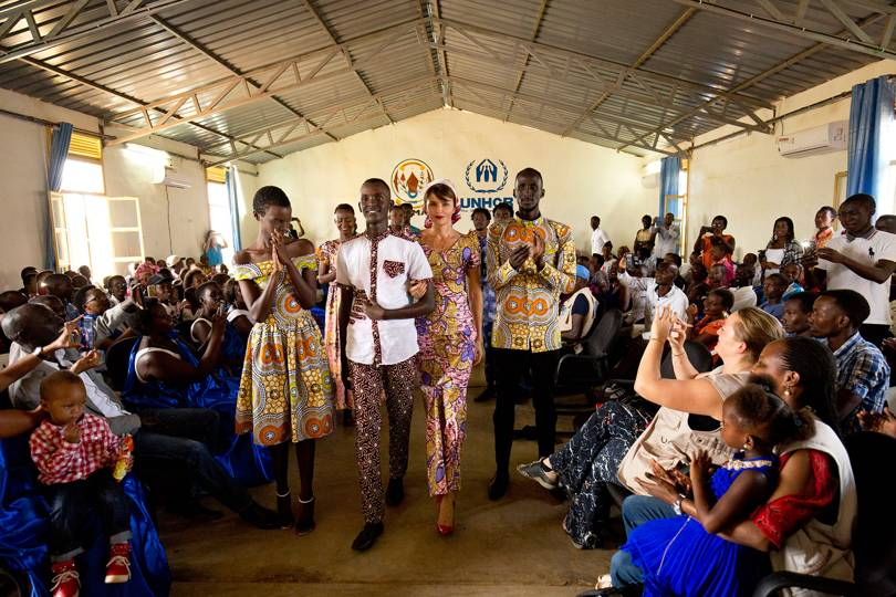 Helena Christensen Meets The Models Changing Stereotypes In A Rwandan Refugee Camp
