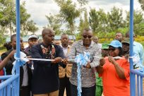 UNHCR and the Ministry of Education inaugurate new classrooms inGatsibodistrict.