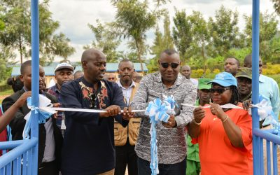 UNHCR and the Ministry of Education inaugurate new classrooms in Gatsibo district.