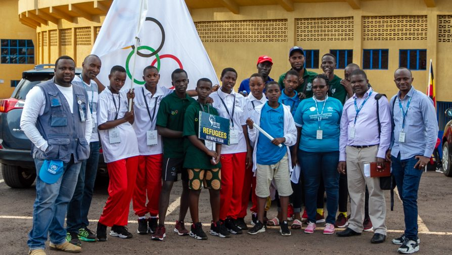 Meet the Refugee Olympic Team of the ANOCA Zone V Youth Games