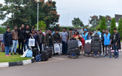 Rwanda: The first large group of refugees evacuated from Libya resettled to Sweden