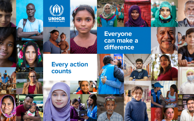 World Refugee Day 2020: 'Everyone Can Make a Difference, Every Action Counts.'