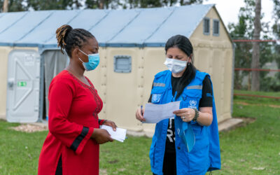 COVID-19 Treatment Center set-up brought new hopes for refugee and host communities in Rwanda.
