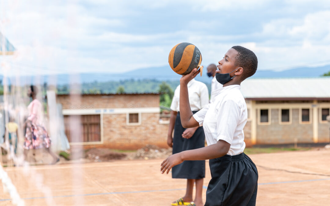 Sport continues to prove its power to uplift young refugees' spirit in Rwanda