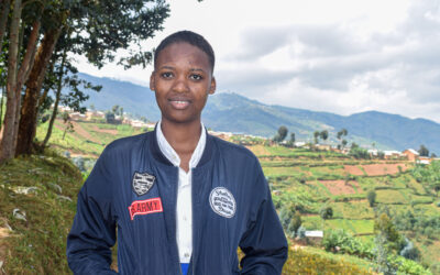 Dreaming Bigger: Young Congolese refugee athlete hopes to compete in the World Taekwondo Championships.