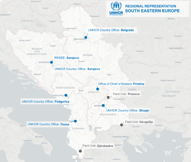 Population trends - UNHCR South Eastern Europe