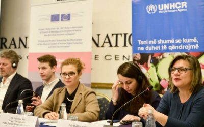 HELP/UNHCR course on Asylum and the ECHR in Albania: closing event