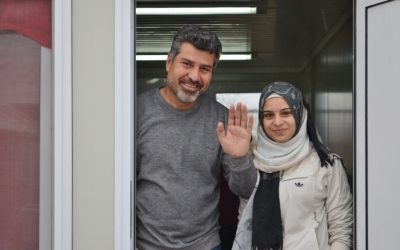 Syrian refugee couple find new hope and freedom through art