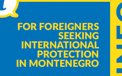 Information Brochure for Foreigners Seeking International Protection in Montenegro