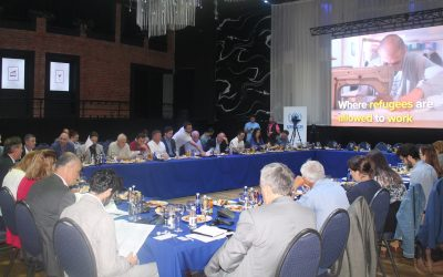 UNHCR in Kosovo* hosted the open dialogue event on the Global Compact on Refugees