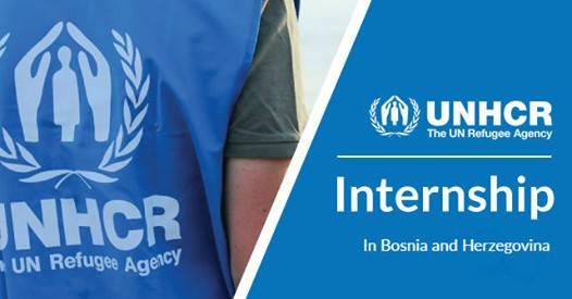 Internship opportunity with UNHCR Country Office Sarajevo (Protection Unit)