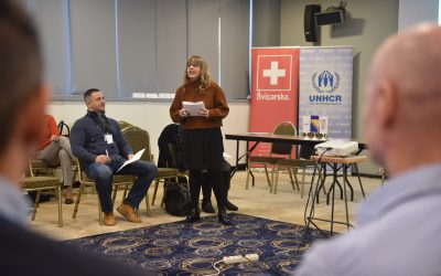 Expert workshops for medical staff engaged in assisting persons of interest to UNHCR in Bosnia and Herzegovina