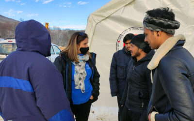 UNHCR acknowledges BiH authorities' efforts in improving conditions for people in camp Lipa