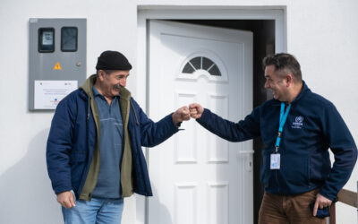 Programme offers people displaced by Balkans wars the joy of coming home