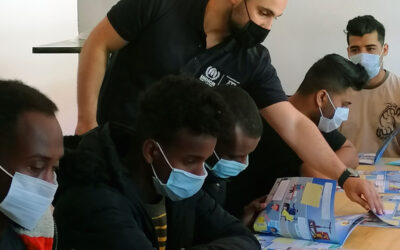 Peer-to-peer sessions for prospect asylum-seekers improve understanding of international protection and provide valuable feedback
