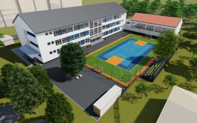 """Community-based project in Bihac: New multifunctional playground for the elementary school """"Harmani II"""""""