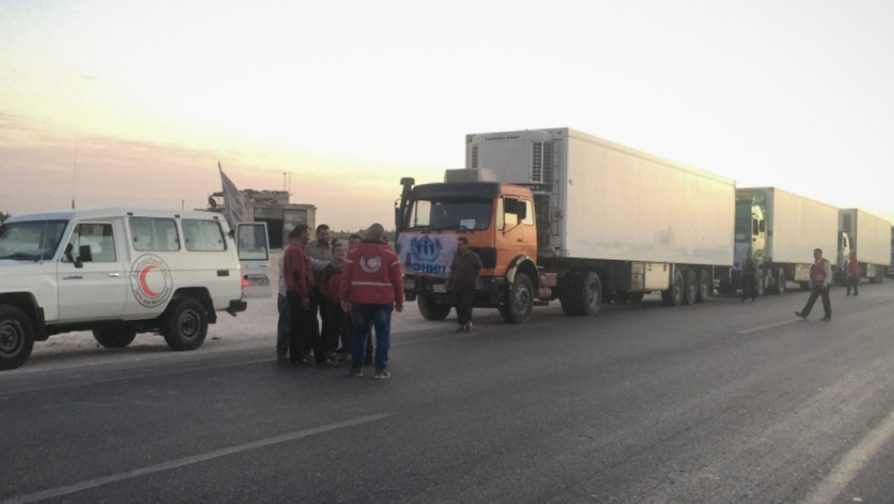 UNHCR humanitarian assistance reaches Deir Ez-Zor city in eastern Syria