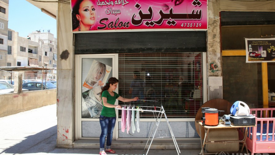 Livelihood program helps displaced woman start over again for A fresh start beauty salon