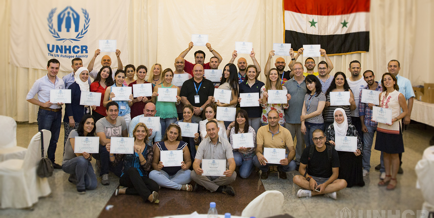 UNHCR In Syria: Training for Better Emergency Management