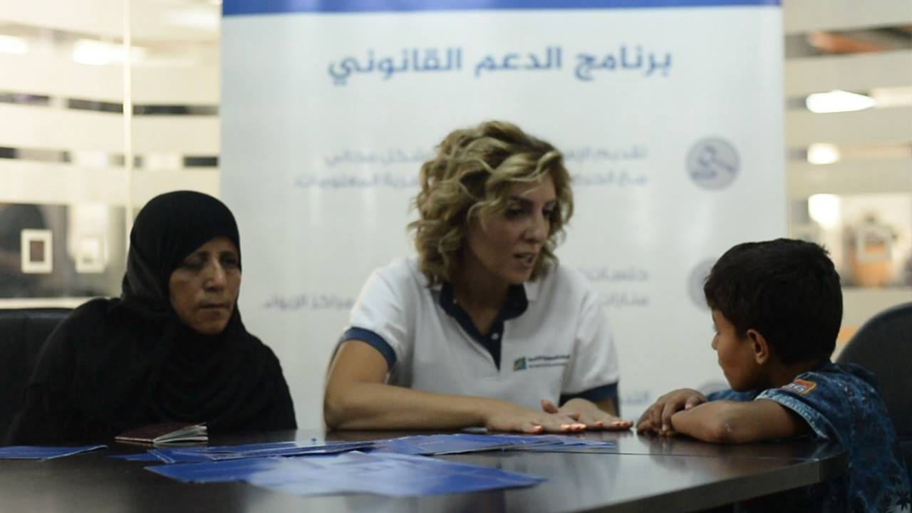 UNHCR's Legal Aid was Life Changing for a Displaced Syrian Mother