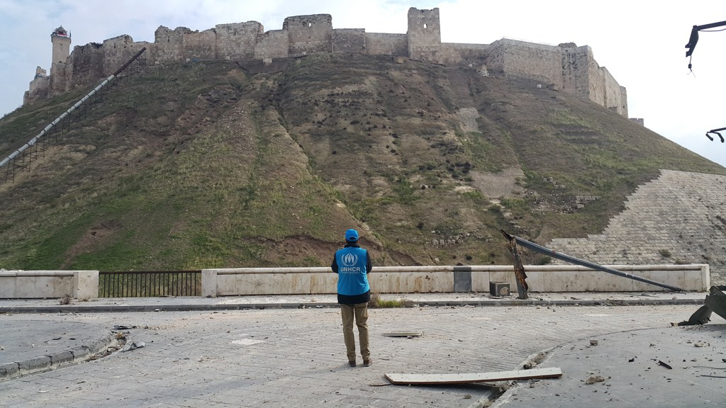 Unhcr First Visit To The Ancient Parts Of The War Torn City Of