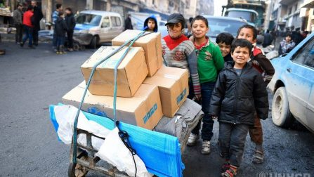 UNHCR sees signs of hope in Aleppo, despite destruction