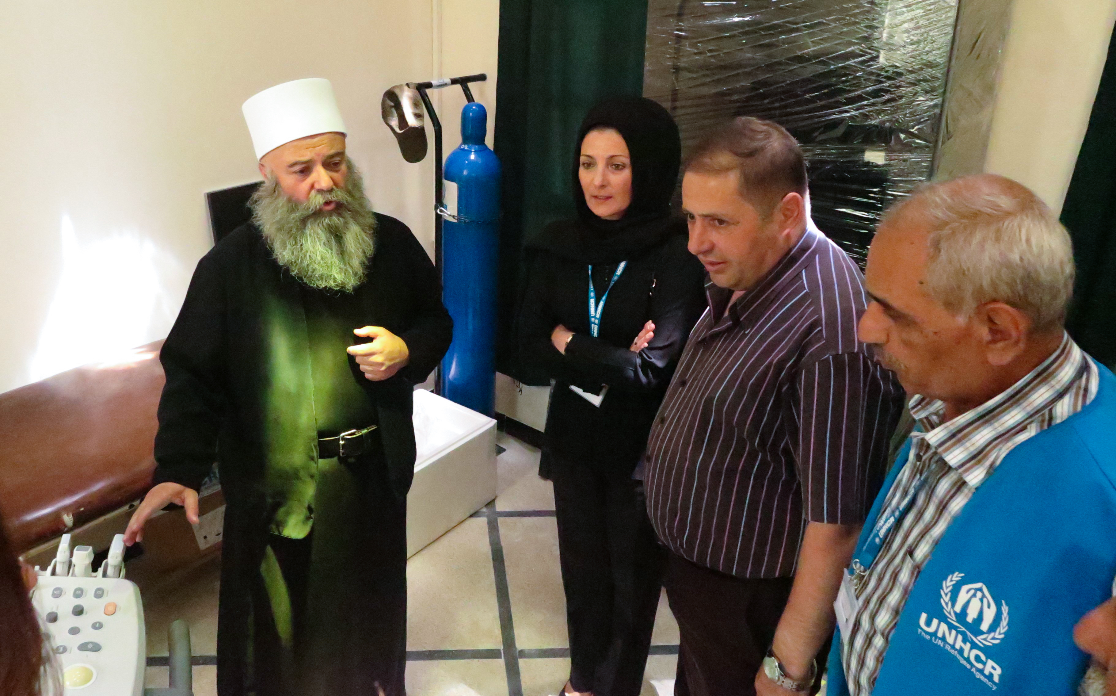 UNHCR delivers medical equipment to Ain Az-Zaman in Sweida